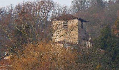 L'Eglise de Villette-sur-Ain en automne