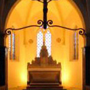 Choeur de l'église de Villette-sur-Ain
