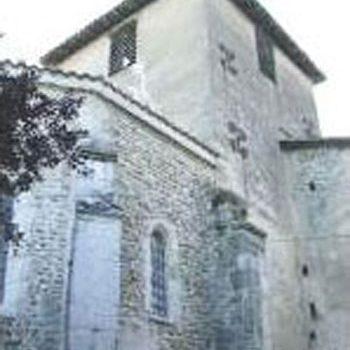 Cliché de l'église de Villette-sur-Ain