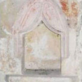 Niche de l'église de Villette-sur-Ain